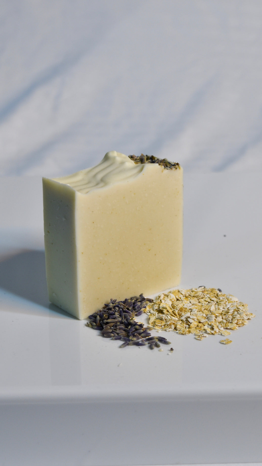 Lavender Oats Facial Soap