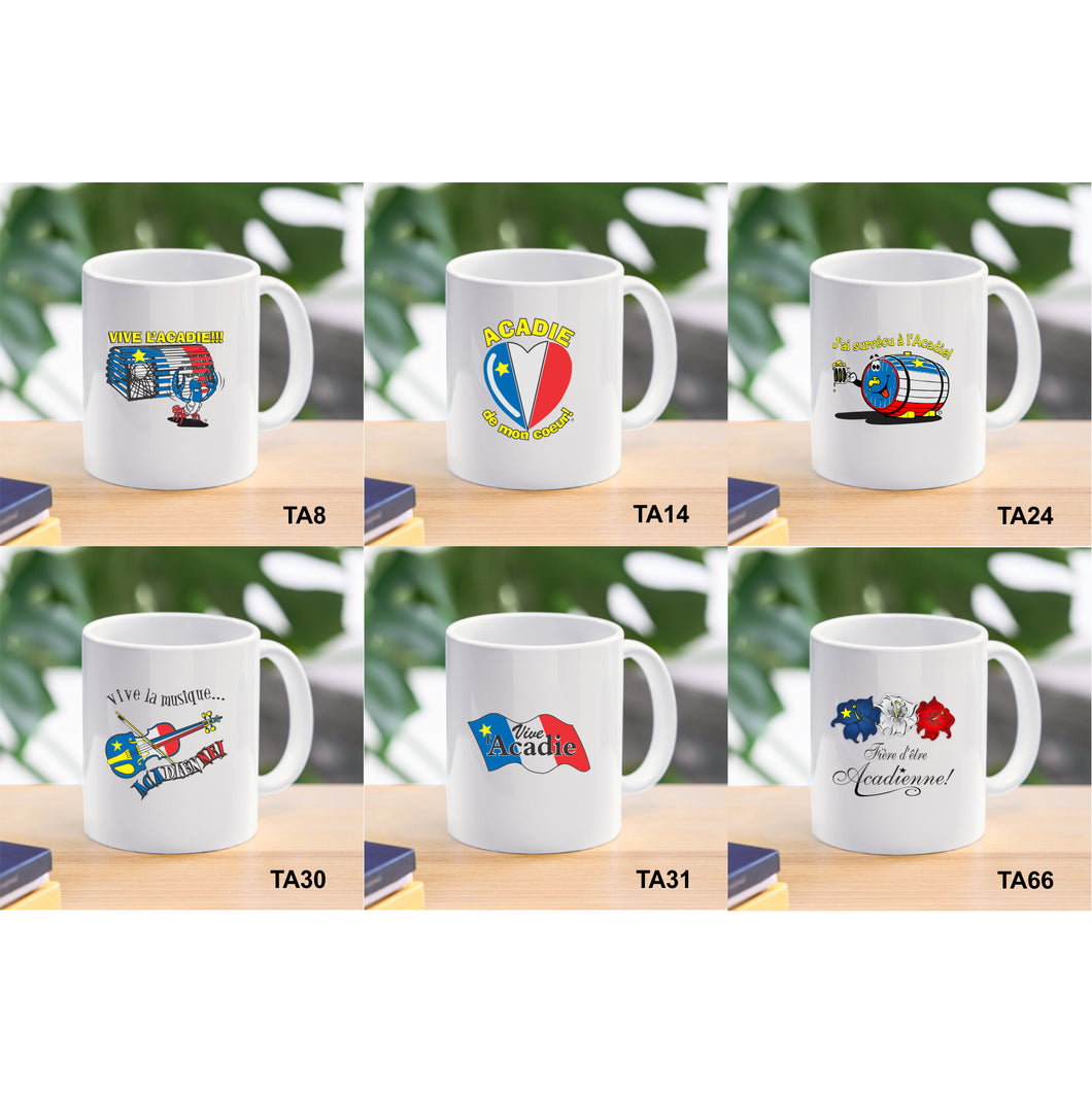 Tasses acadiennes