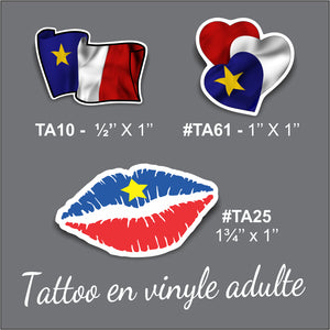 TAA - Tattoo pour Adulte