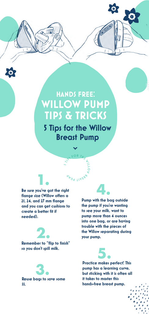 5 Tips for the Willow Breast Pump