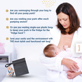 save pumping time keep breast pump parts accessories in fridge hack wetbag
