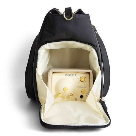 medela breast pump shoulder bag pump in style