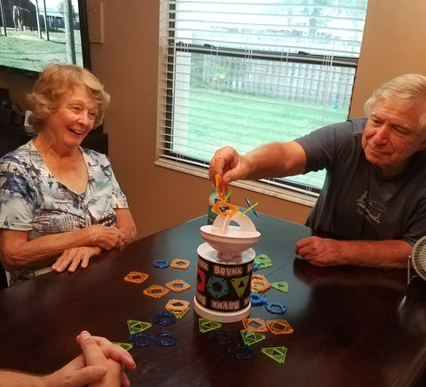 The parents play Brynk
