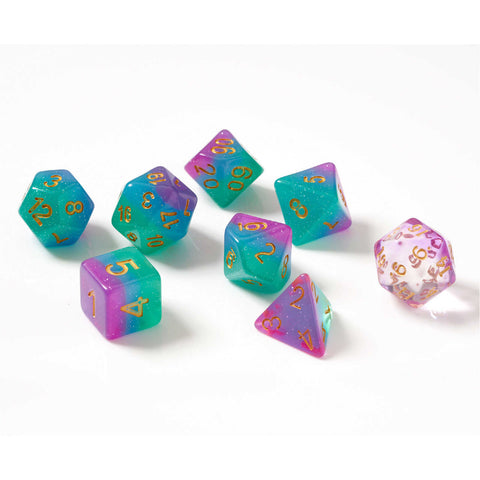 Dice Set - Northern Lights