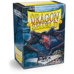Dragon Shield Sleeves: Standard- Matte Black (100 ct.)