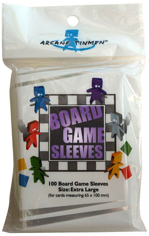 Board Game Sleeves - Extra Large (65x100mm)