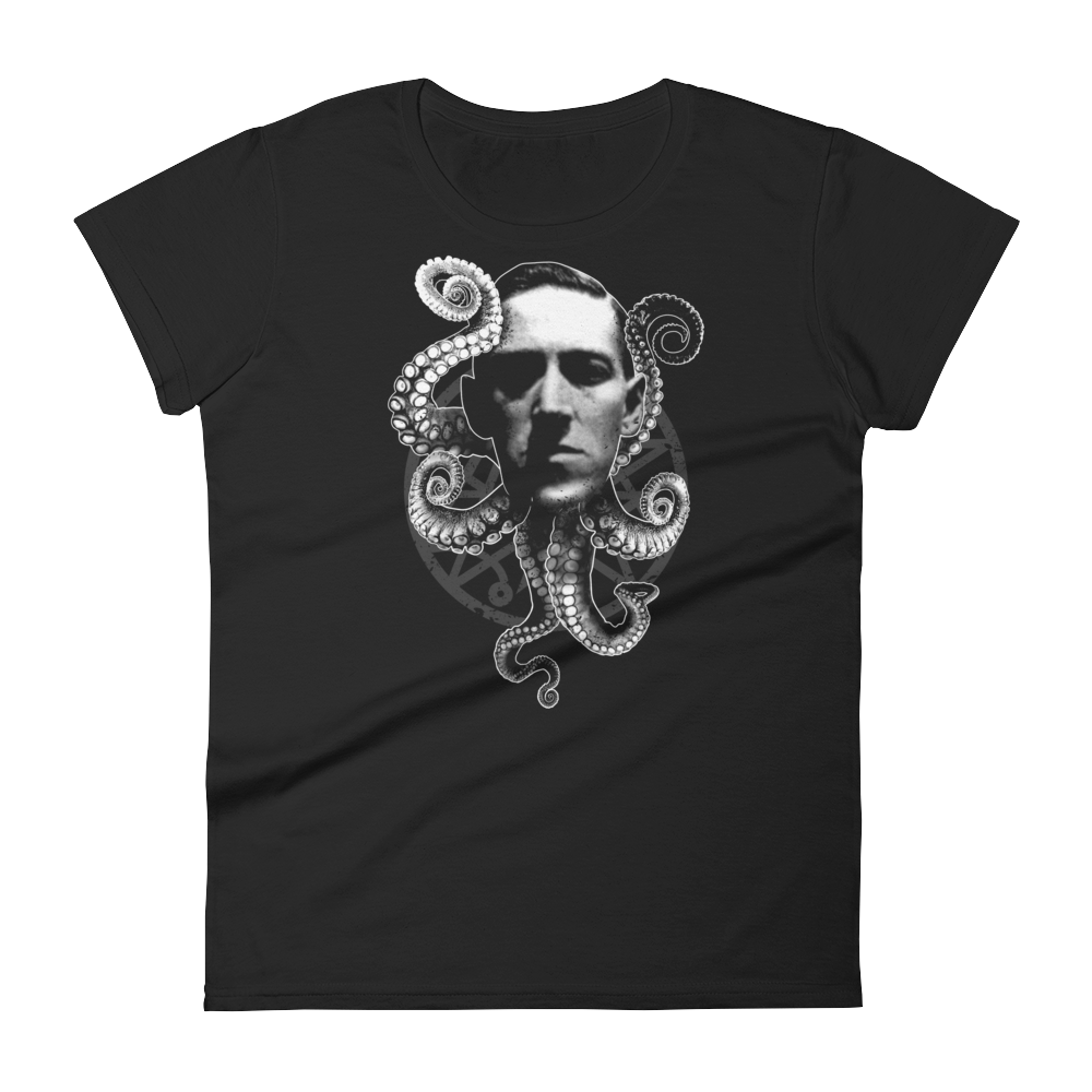 HP Lovecraft Cthulhu ladies T