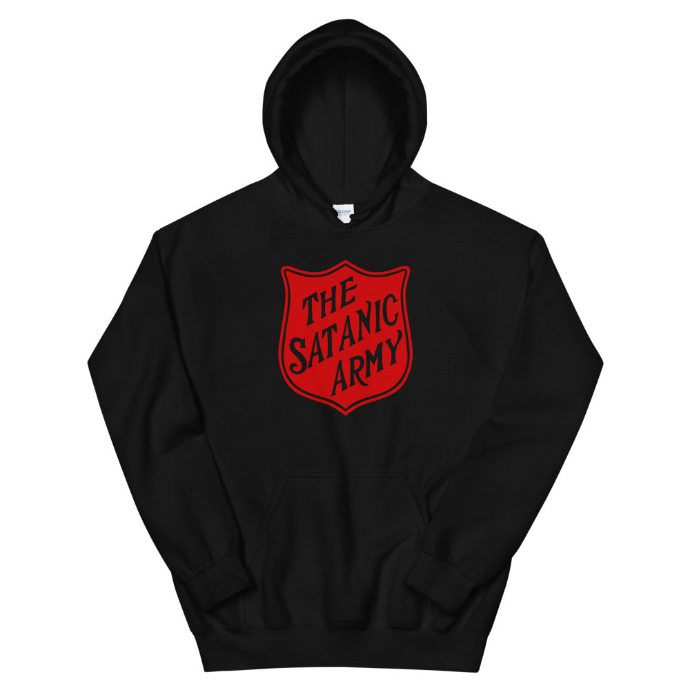 The Satanic Army Hooded Sweatshirt