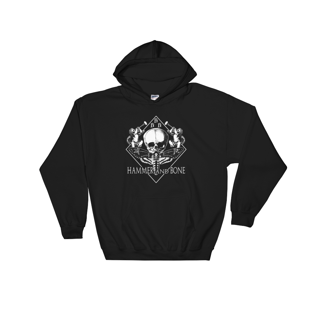 "Hammer and Bone ""unholy death head"" Sweatshirt"