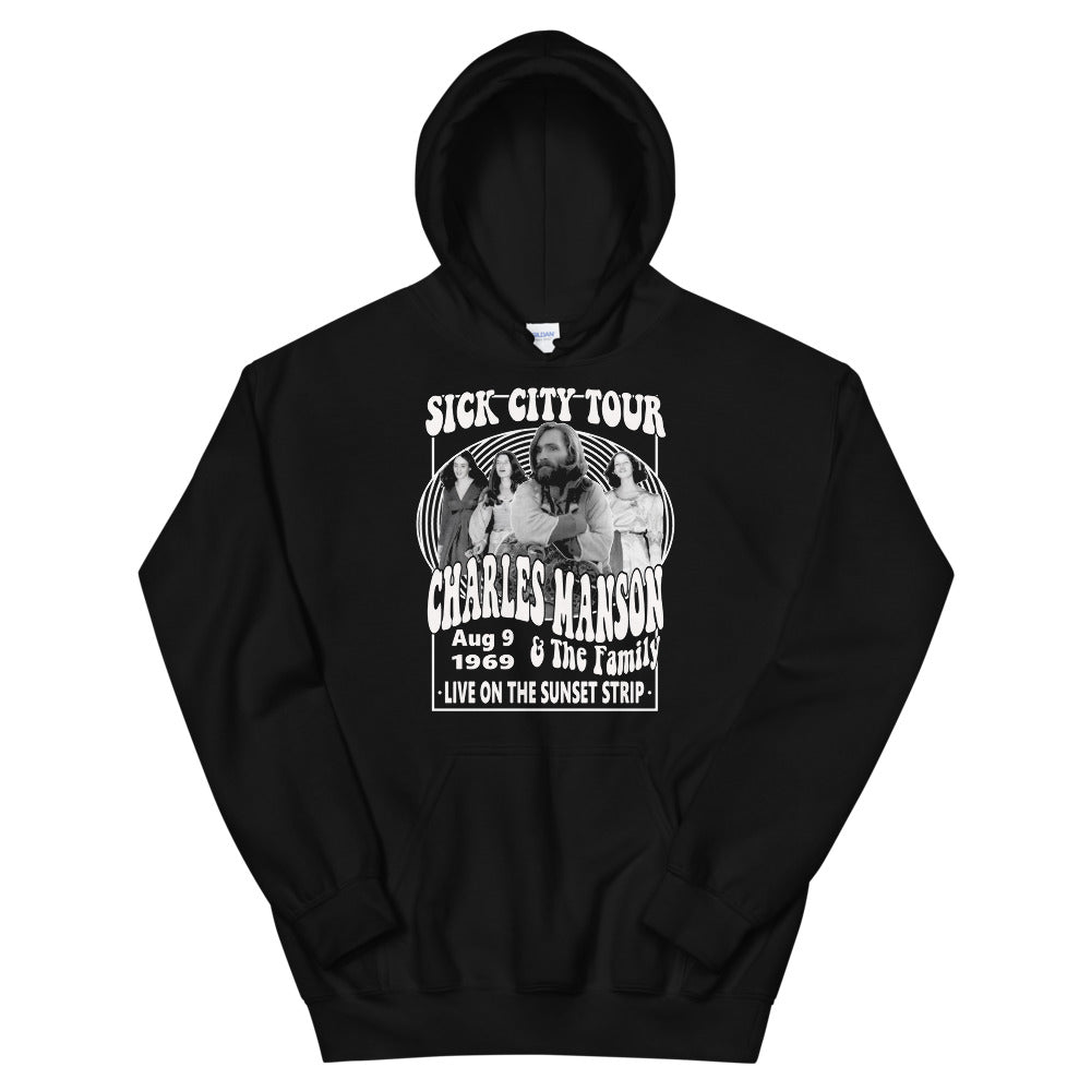 Charles Manson and the Family Band Hoodie