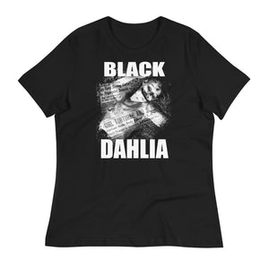 "Black Dahlia ""Crime Photo"" Women's Relaxed T-Shirt"