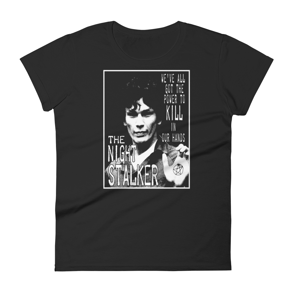 Richard Ramirez Night Stalker Ladies T-Shirt
