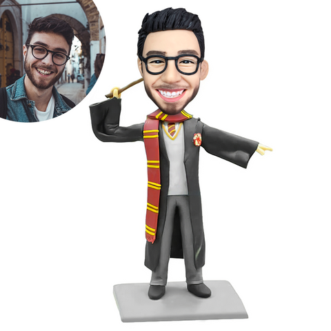 Graduation J Custom Bobblehead