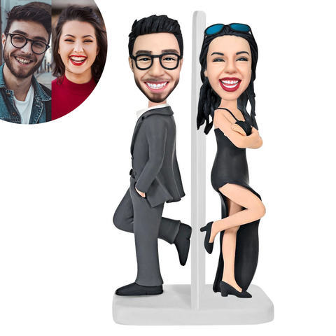 Couple A Custom Bobblehead