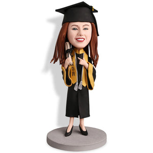 Graduation DH Custom Bobblehead