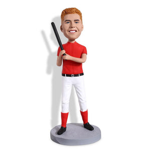 Baseball Batsman Custom Bobblehead SPORTS My Bobblehead