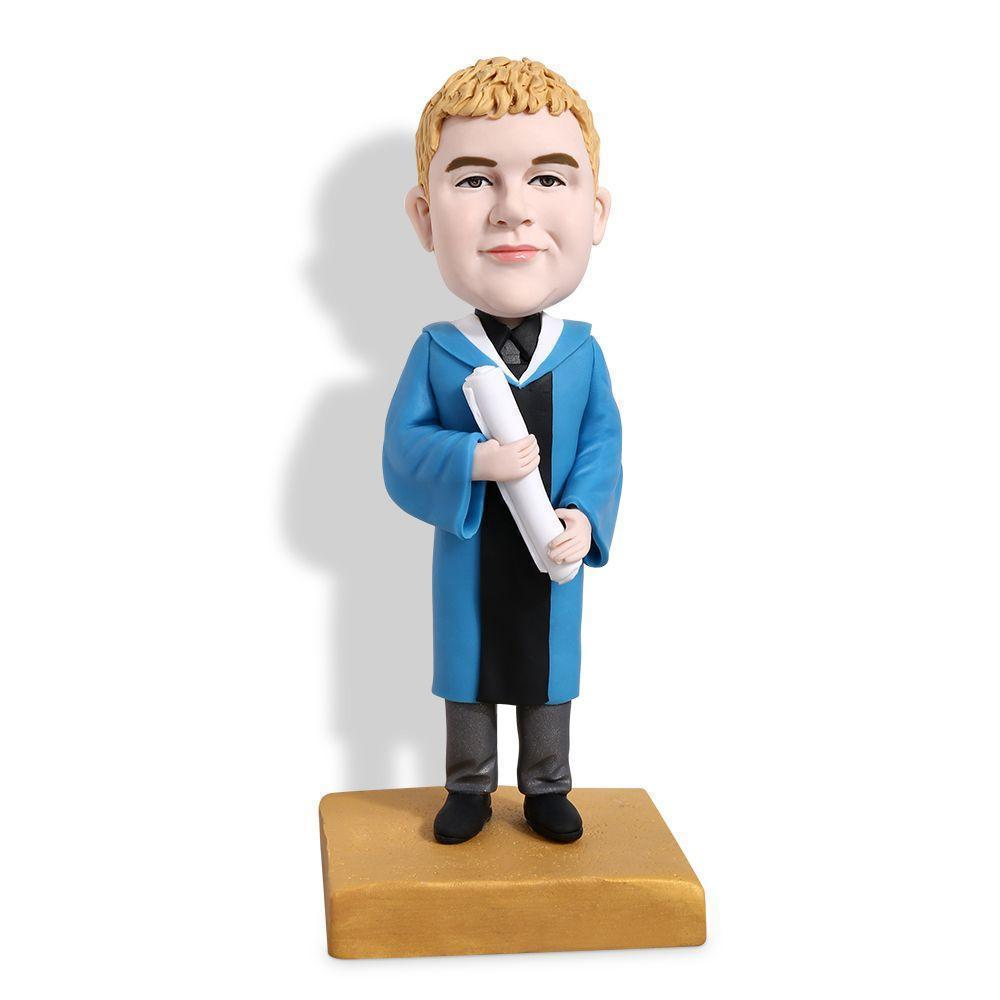 Graduation Boy Custom Bobblehead GRADUATION My Bobblehead