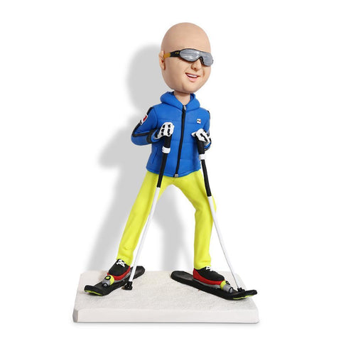 I'm Skier Custom Bobble SPORTS My Bobblehead