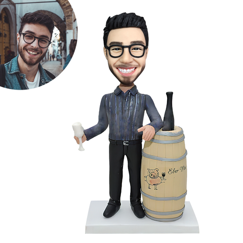 Beer Is My Life Custom Bobblehead