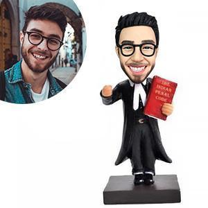 Lawyer/Attorney Custom Bobblehead WORKS My Bobblehead