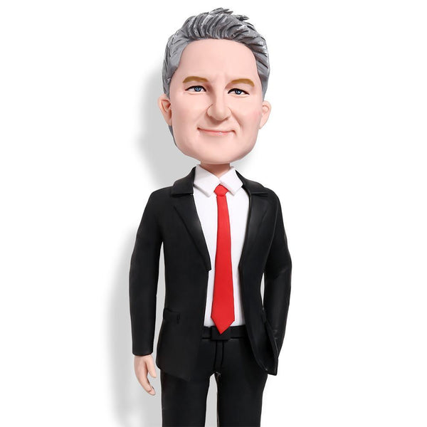 Male Executive in Power Suit B Custom Bobblehead WORKS My Bobblehead