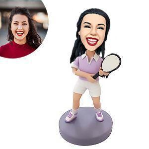 Tennis Player Custom Bobblehead SPORTS My Bobblehead