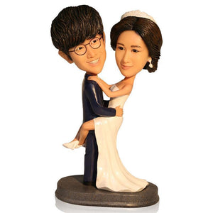 Wedding Pose Custom Bobblehead WEDDING My Bobblehead