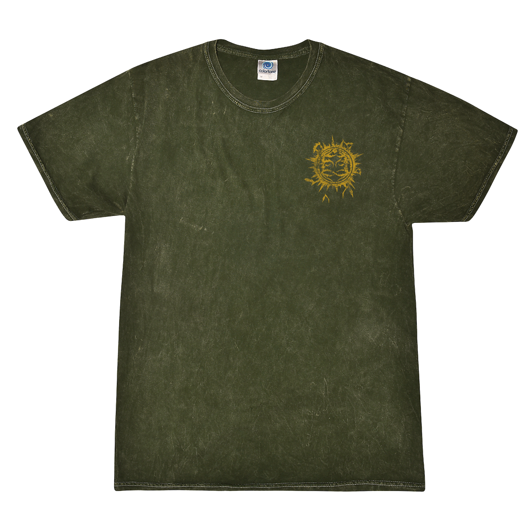 Pocket Emblem Mineral Wash Shirt (Pre-Order)
