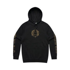 Embroidered Emblem Hoodie