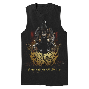 """Foundation of Bones"" Sleeveless Tee"