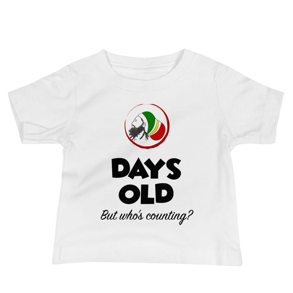 Days Old Baby Jersey Short Sleeve Tee