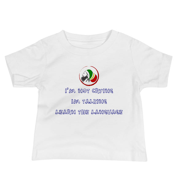 learn My language Baby Tee