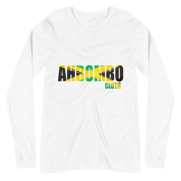 Jamaica Flag Long Sleeve Tee