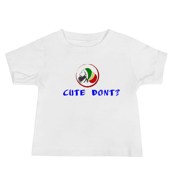 Cute Baby Jersey Short Sleeve Tee