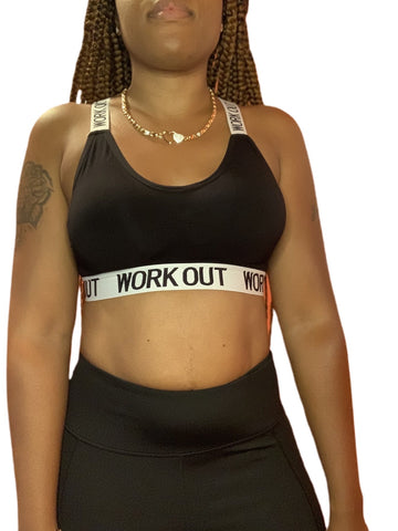 Workout Sports Bra - ShopChayah