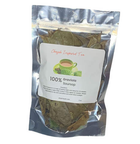 Sour Sop Leaves .5oz - ShopChayah