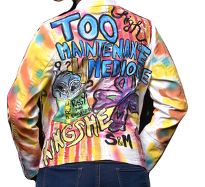 """Too High Maintenance For Mediocre"" jacket"