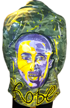 Load image into Gallery viewer, Kobe Bryant camo jacket: The Man, The Myth, The Legend