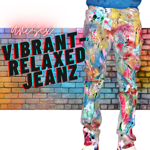 Vibrant-Relaxed Jeanz (unisex)