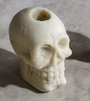 Skull straw topper mold