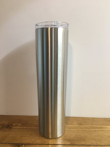 35 oz skinny tumbler with straw