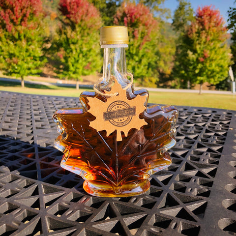 3.35 Ounce Maple Leaf - Organic Maple Syrup