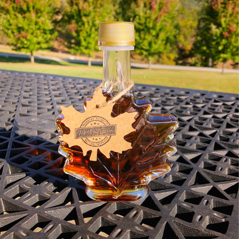 1.69 Ounce Maple Leaf - Organic Maple Syrup