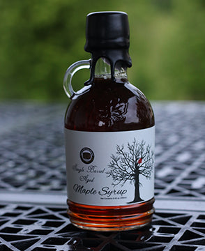 8.45 oz Barrel Aged Rye Maple Syrup
