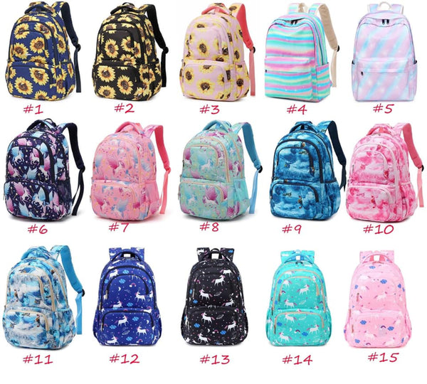 Backpacks Round 1