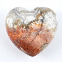 Agate Crazy Lace Red Heart-Miss V's Luminous Crystals