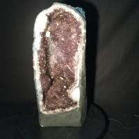 Amethyst Cave / Geode - Extra Large-Miss V's Luminous Crystals