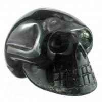 Bloodstone Skull-Miss V's Luminous Crystals