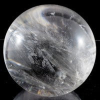 Clear Quartz Crystal Ball-Miss V's Luminous Crystals