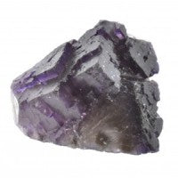 Fluorite Purple Cluster-Miss V's Luminous Crystals